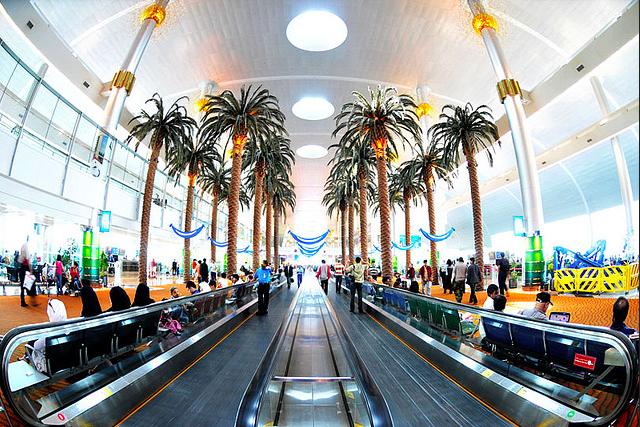 palmeras aeropuertos del mundo dubai