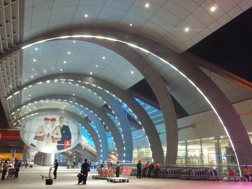 techo aeropuertos del mundo dubai