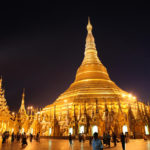 Págoda Swedagon Yangon rangun sudeste asiático