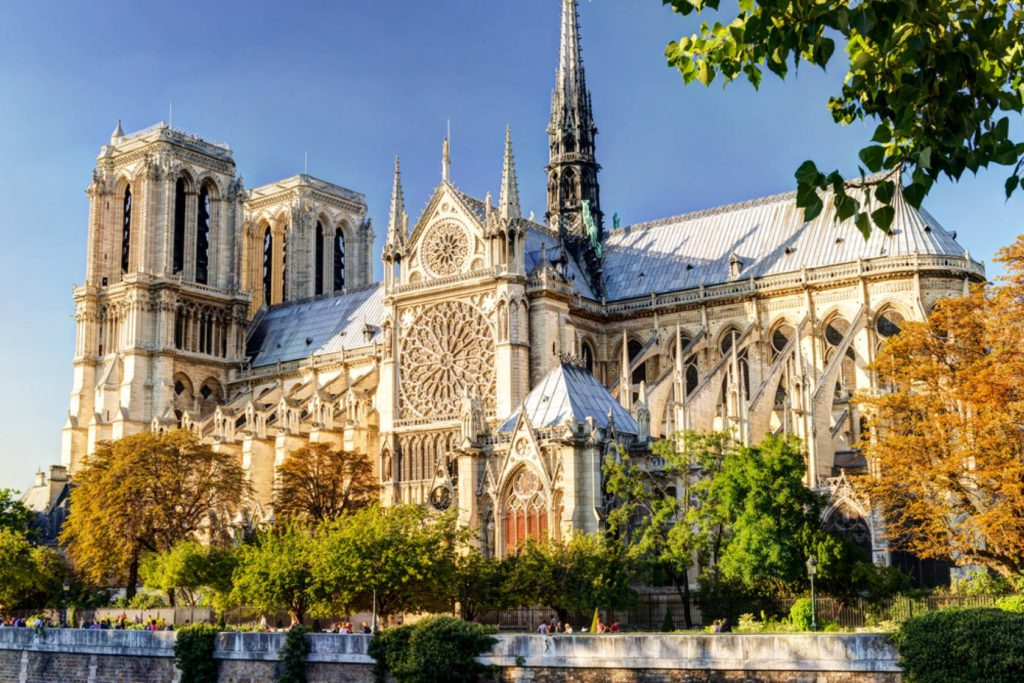 Cathédral Notre Dame parís