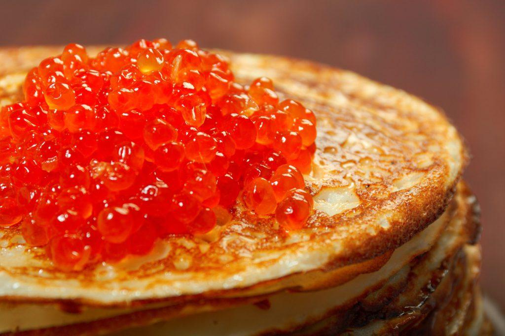 caviar rojo rusia