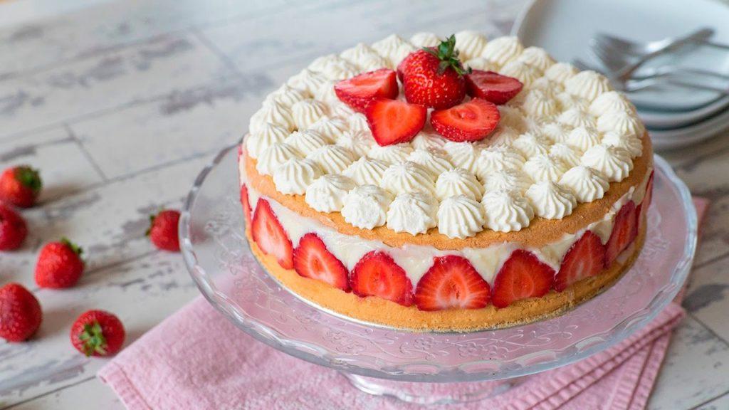 tarta fraisier parís