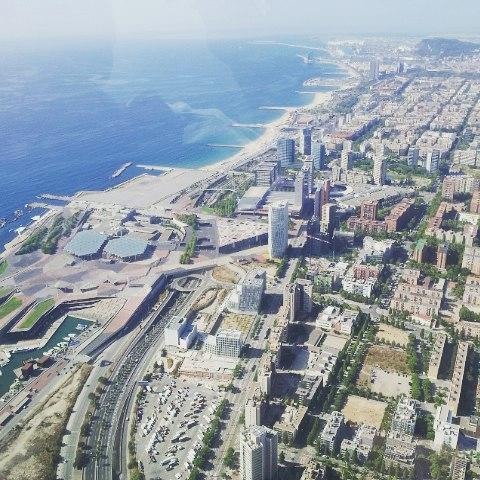 barcelona desde el aire 4