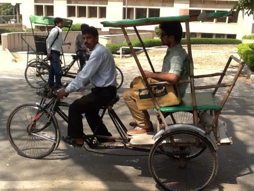 rickshaw nueva delhi india