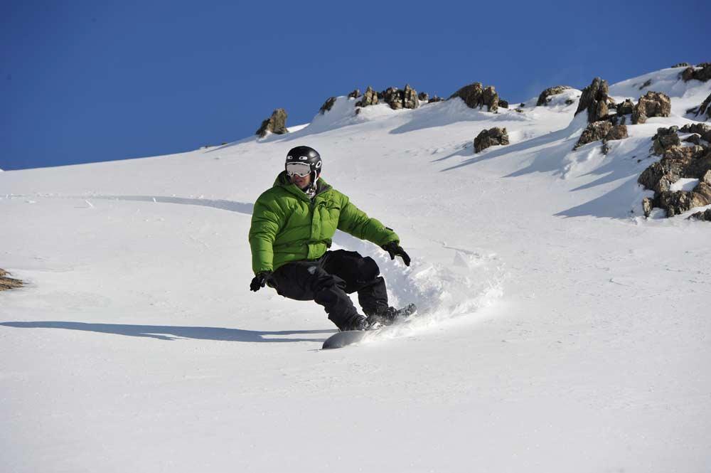 snowboard cerro castor ushuaia
