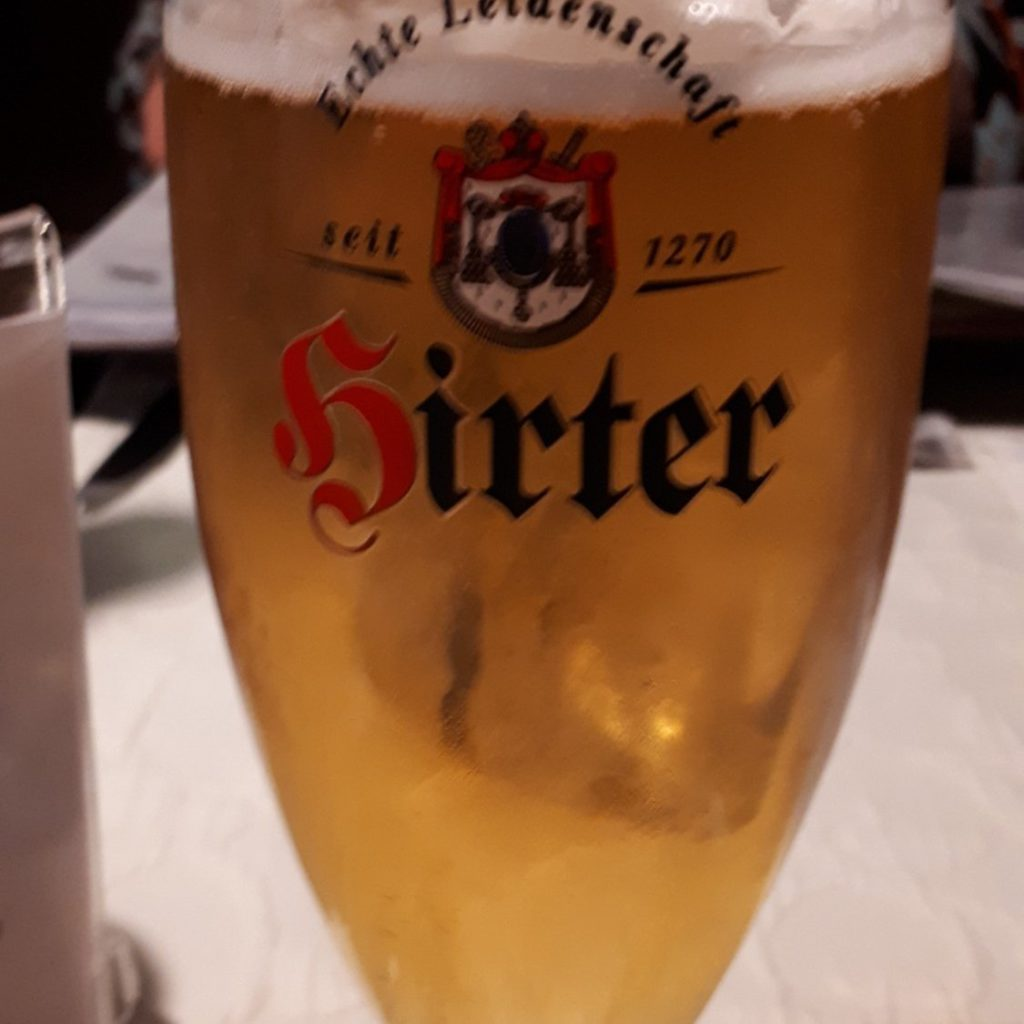 cerveza innsbruck comida europea