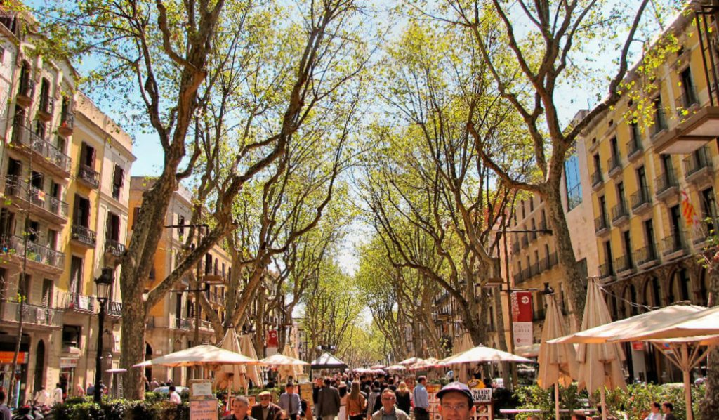 4 ramblas barcelona