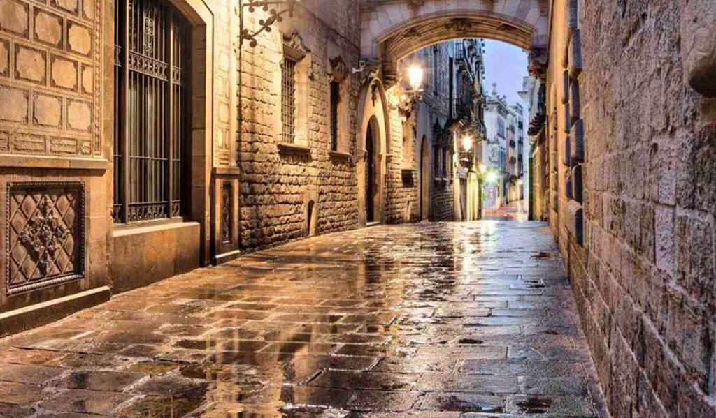 5 barrio gotico barcelona