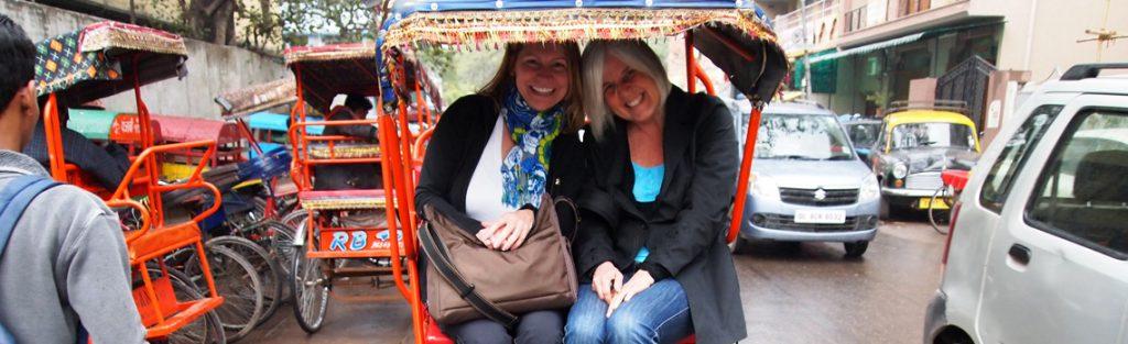 delhi en rickshaw india