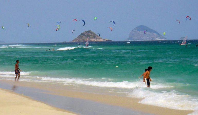 Barra de Tijuca, las playas más lindas de Río de Janeiro