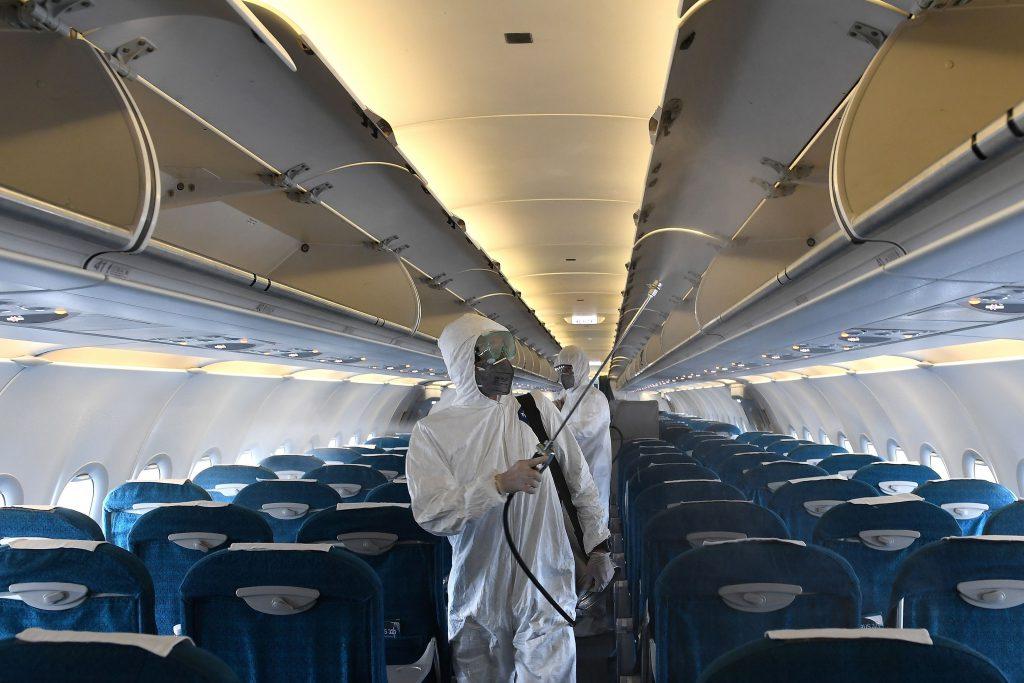 volver a volar limpieza aviones