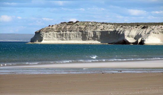 Imagen paisaje península valdes