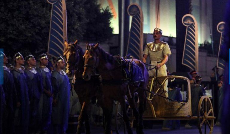 Desfile Dorado de los Faraones