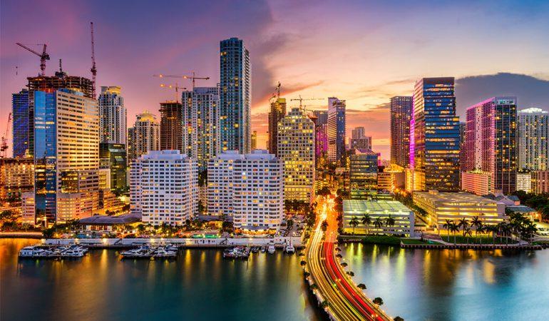 Miami OK! Listo para recibirte.