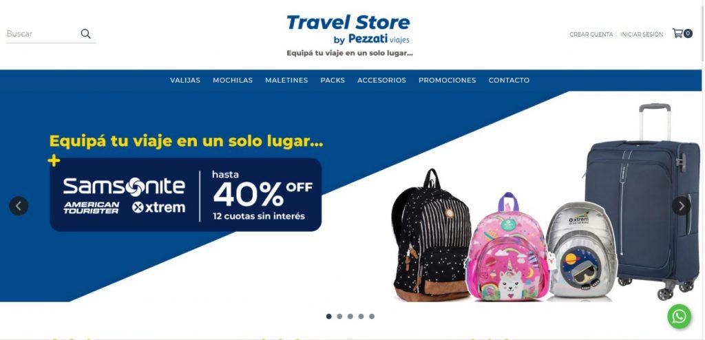 Tienda Online Travel Store
